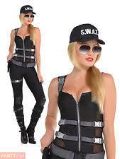 Swat Halloween Costumes Women Swat Costume Ebay