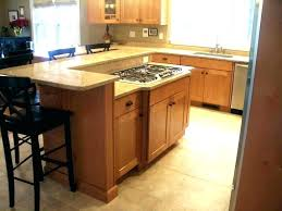 Kitchen Counter Island Kitchen Island Overhang Altmine Co