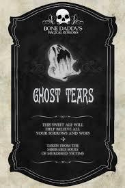 printable halloween specimen jar labels ghost tears holiday halloween pinterest halloween labels