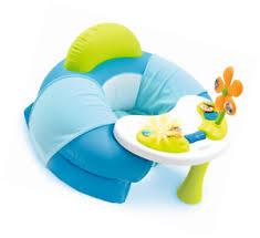 cotoons siege gonflable smoby toys 110210 siege bébé cotoons cosy seat bleu ebay
