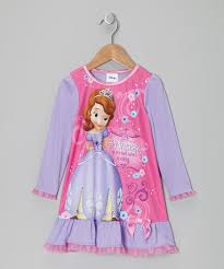 Sofia The First Toddler Bed Pink Sofia The First Nightgown Toddler Zulily
