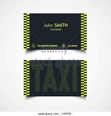 taxi business card template design stock photos u0026 taxi business