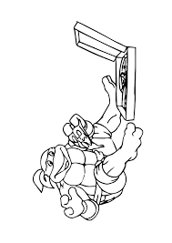 96 horse ninja turtles coloring book images