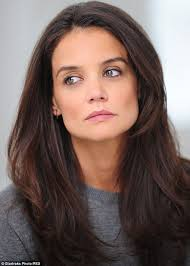 hairstyles for 36 year old katie holmes does not have a strand out of place while shooting