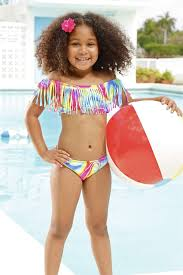 Agua Bendita Leopardo Highend Kids Bikinis Peixoto Kids Audrey Set Lollipop