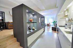 modern galley kitchen kitchen awesome white grey glass wood luxury