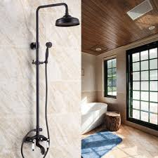 Outdoor Exposed Shower Faucet Hand Shower Included Shower Faucets Faucetsinhome Com