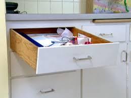 fix a sagging kitchen drawer video hgtv