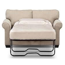 Tempurpedic Sofa Sleeper Fletcher Twin Memory Foam Sleeper Sofa Beige Value City Furniture