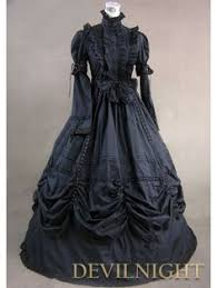 victorian tea gowns champagne and black marie antoinette