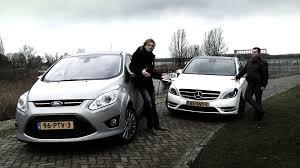 mercedes a class vs b class mercedes b klasse vs ford c max roadtest subtitled