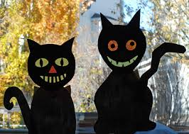 that artist woman halloween crazy cats