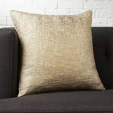 18 glitterati gold pillow cb2