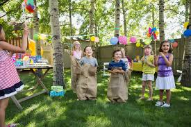 plan outdoor obstacle games for a kids u0027 birthday party