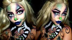 Halloween Makeup Clown Faces by Beetlejuice Inspired Clown Halloween Makeup Youtube