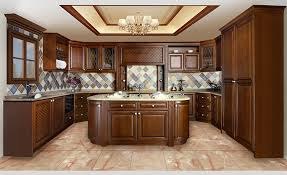 Kitchen Furnitures American Style Walnut Wood Color Modern Kitchen Furnitures Buy