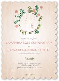 wedding invitations floral lovely floral 5x7 wedding invitations shutterfly