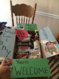 moana care package miles apart pinterest missionary care