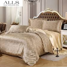 summer style leopard print comforter set sunflower zebra print duvet cover silk bedding sets sheet set king size queen twin funky bedding duvet covers on