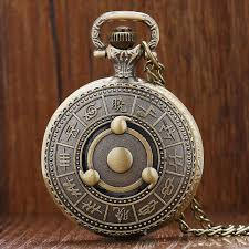 quartz necklace watch images Naruto sharingan akatsuki pocket watch bronze for sale jpg