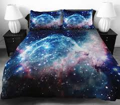 Space Bed Set These Galaxy Bedding Turns Your Bed Into A Space Station