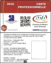 carte chambre des metiers assurance décennale plomberie chauffage cuisine et salle de bain