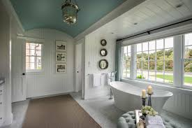 country cottage bathroom with free standing bathtub 50797 house