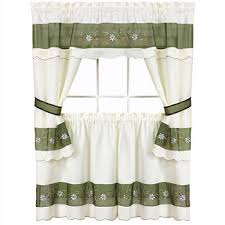 What Is A Cafe Curtain Rod Kitchen Curtains U0026 Bathroom Curtains Jcpenney