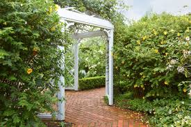 English Garden Pergola by Hamilton Gardens English Flower Garden