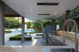 Sunken Kitchen Awesome With External Sitting Areas For Home Design Outdoor