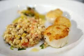 cours de cuisine grand monarque chartres recette de noël plat viennoise de coquilles jacques
