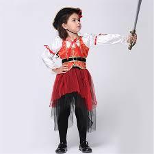 Hedgehog Halloween Costume Aliexpress Buy Girls Princess Sea Pirate Costume Kids