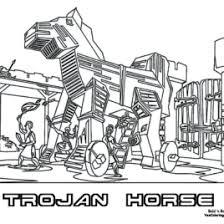 coloring trojan horse archives mente beta complete