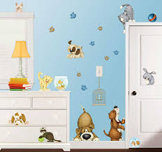 wall decal dog and cat decals thousands pictures eck wandsticker haustiere katze hund tapetenwelt wall decal dog and cat