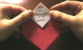 Writing Love Letters To Your Girlfriend 10 Easy Last Minute Origami Projects For Valentine U0027s Day