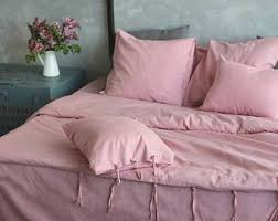 linen duvet cover stone washed super soft luxury double queen