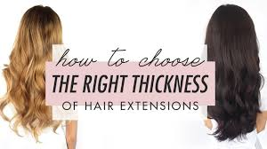 Wedding Hair Extensions Before And After by How To Choose The Right Thickness Of Luxy Hair Extensions Luxy