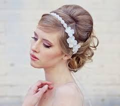 wedding flower headbands for long short haircuts 4