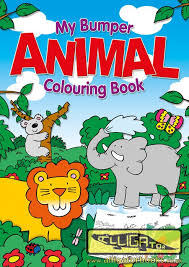 Jumbo Colouring Books Alligator Books Colouring Book