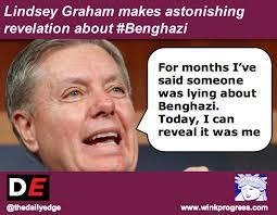 Graham Meme - lindsey graham makes astonishing revelation about benghazi