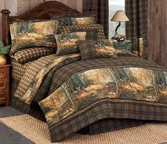 Plaid Bed Sets Deer Plaid Comforter Sets