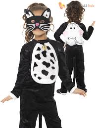 cat costume for halloween girls halloween black cat fancy dress costume book week
