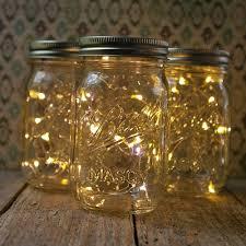 diy jar lights run a small strand of battery