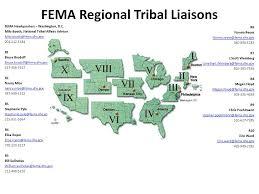 fema region map emergency management institute fema emi tribal curriculum fema