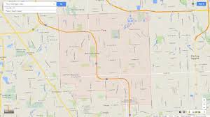 Google Map Of Michigan by Troy Michigan Map