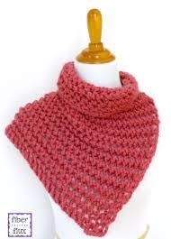 fiber flux free knitting pattern raspberry sorbet button cowl