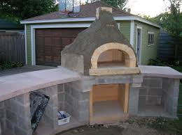 Outdoor Kitchen Pizza Oven Design Kitchen Makeovers Backyard Pizza Oven Plans Commercial Wood