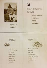 original thanksgiving dinner menu u s representatives attend dinner marking thanksgiving of 1945 in