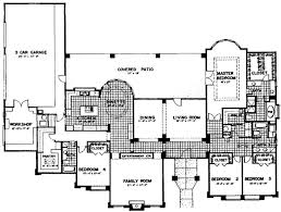 adobe house plans magnificent 7 adobe house plan with 2945 square