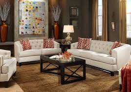 Rooms To Go Living Room Furniture by Chicago Hemp 5 Pc Living Room Living Room Sets Beige